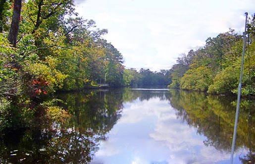 Waterfont Land for sale along the Inner Banks of North Carolina
